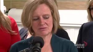 Alberta premier reacts to Al Gore's anti-pipeline tweet