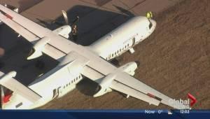 Passengers injured in emergency landing at EIA