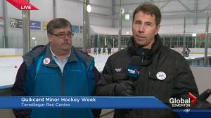 Quik Card Minor Hockey Week faces off