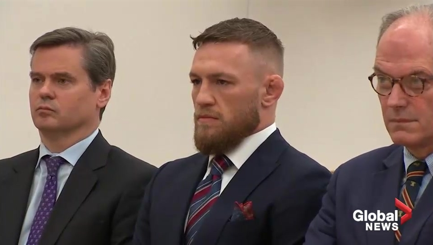 UFC's Conor McGregor pleads guilty to disorderly conduct in Barclays melee