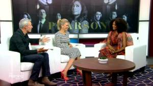 Chantel Riley on the new TV series 'Pearson'