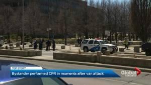 Bystander performed CPR in moments after Toronto van attack
