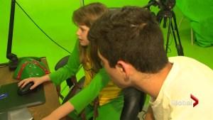 Autism film camp