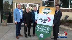 Global News official TV partner of 2018 Grey Cup Festival