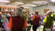 Play video: Local seniors group flaunts the benefits of dancing as you age