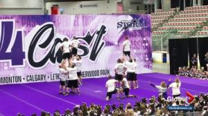 Perfect Storm dads perform surprise cheer routine in Calgary
