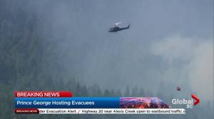 Wildfire near Princeton continues to grow