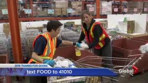 Thanks For Giving: Lynn Colliar at the Vancouver food bank