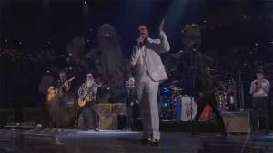 Eagles of Death Metal appear with U2 in Paris