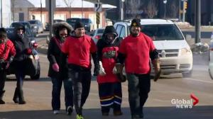 Men walk from Saskatoon to Prince Albert for northern Sask. MMIWG