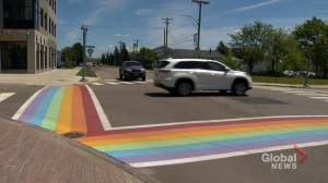 Debate over rainbow crosswalks in Moncton set to continue
