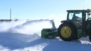 Manitoba snow maze on track to break world record