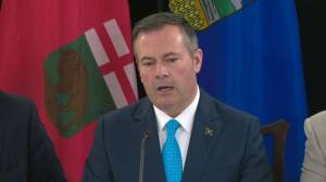 Kenney speaks about 'foreign-funded' interests trying to 'landlock Canadian energy'