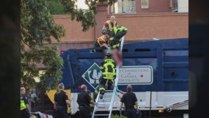 Man killed in Victoria garbage truck accident