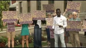 Solidarity Weekend against hate in Peterborough