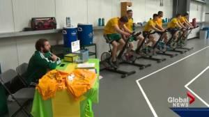 University of Alberta bike-a-thon raises awareness for mental health