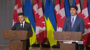 Canada continues to strengthen ties with Ukraine, says Trudeau