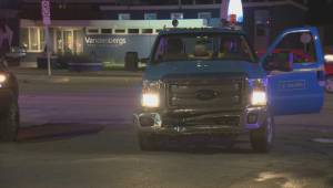 RAW: Two vehicle collision closes Portage Avenue during rush hour