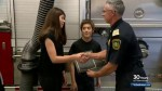 Saskatoon brother and sister honoured as heroes after alerting neighbours their house was on fire