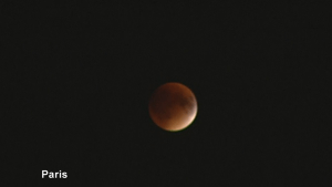 """Images of """"supermoon"""" eclipse from around the world"""