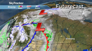 Saskatchewan weather outlook: rain rolls back in