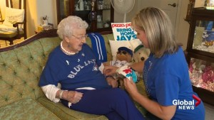 Meet the World's oldest Blue Jays fan!