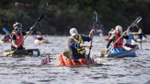 Nova Scotians take part in 20th annual pumpkin regatta