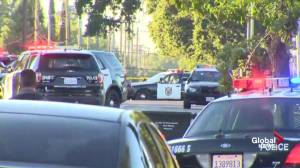 Police respond to shooting in California neighbourhood, say 1 officer shot