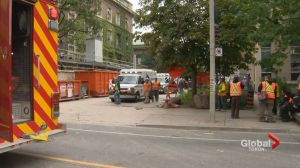 1 man dead after industrial accident in downtown Toronto