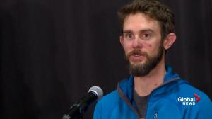 Mountain lion attack survivor explains what he's learned about himself