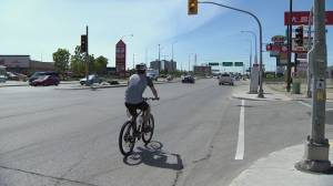 Bombers call for bike route safety review after cyclist killed on way to game