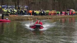 Rescuers use boats, helicopters to reach victims in deadly German train collision (01:22)
