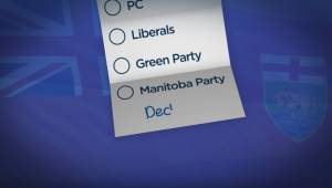 Manitoba voters can 'decline' vote in provincial election (01:34)