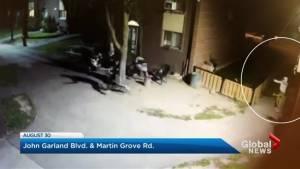 Police release shocking videos of shootings
