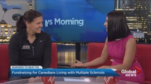 Fighting MS with soccer star Christine Sinclair