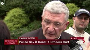 Pittsburgh bishop says shooting incidents making people feel unsafe