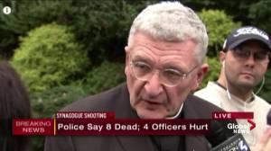 Pittsburgh bishop says shooting incidents making people feel unsafe