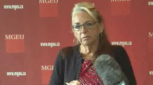 'More questions than answers': The head of the MGEU said of the latest health announcement.