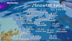 Saskatoon weather outlook: spring snowstorm ahead