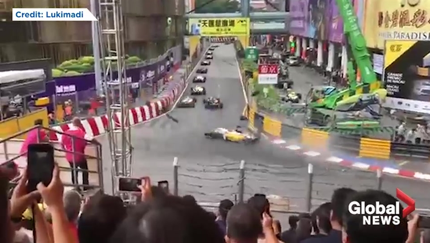 Teen driver Sophia Floersch fractures spine in Macau Grand Prix horror crash