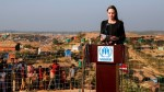 Angelina Jolie visits Rohingya camps in Bangladesh