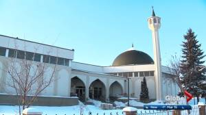 Edmonton police patrol local mosques during Friday prayers after New Zealand massacre
