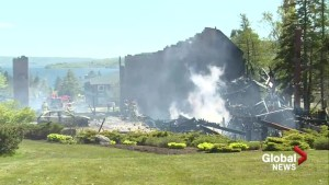 Fire destroys historic resort in Baddeck