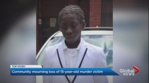 Regent Park residents mourn the loss of 15-year-old shooting victim