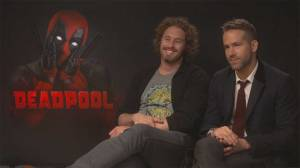 Reynolds, Skrein and Miller on why 'Deadpool' is definitely not a superhero movie for kids