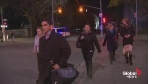 Raw video: People stream onto Ottawa streets as lockdown lifted