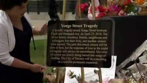 City of Toronto dismantles impromptu van attack memorials, begins work on permanent displays