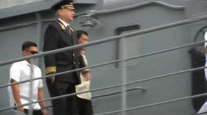 Rodrigo Duterte tours Russian warships
