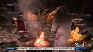 'Freezing father' begins 3rd annual week-long camp-out in daughter's honour (02:31)