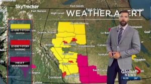 Edmonton Weather Forecast: July 18